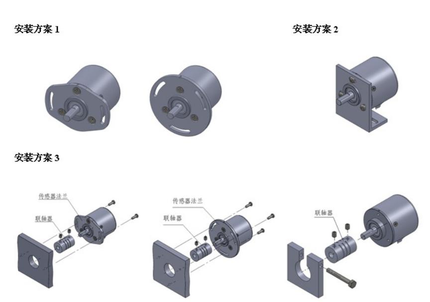 MCJS非接触式角度传感器 4-20mA高精度角位移角度传感器