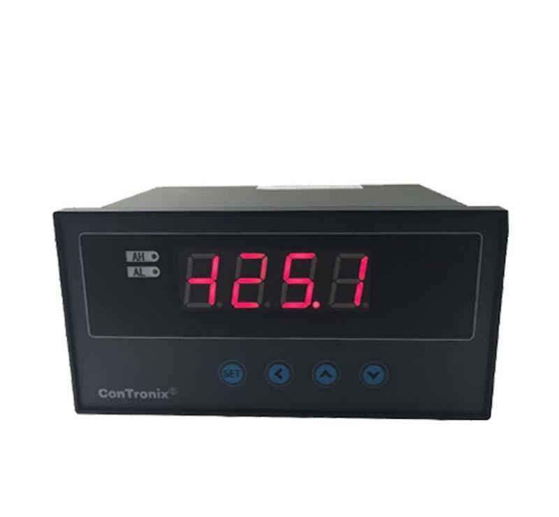 数显仪表温度压力液位位移角度传感器变送器CH6仪表 LED显示